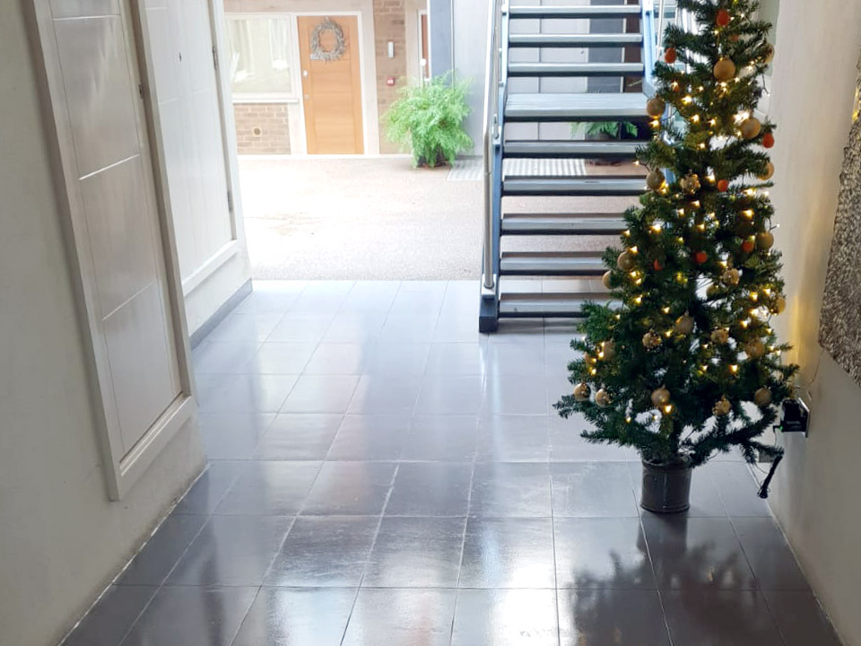 Commercial Cleaners Dunmow clean hallway