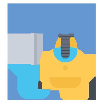 domestic cleaners dunmow vacuum icon